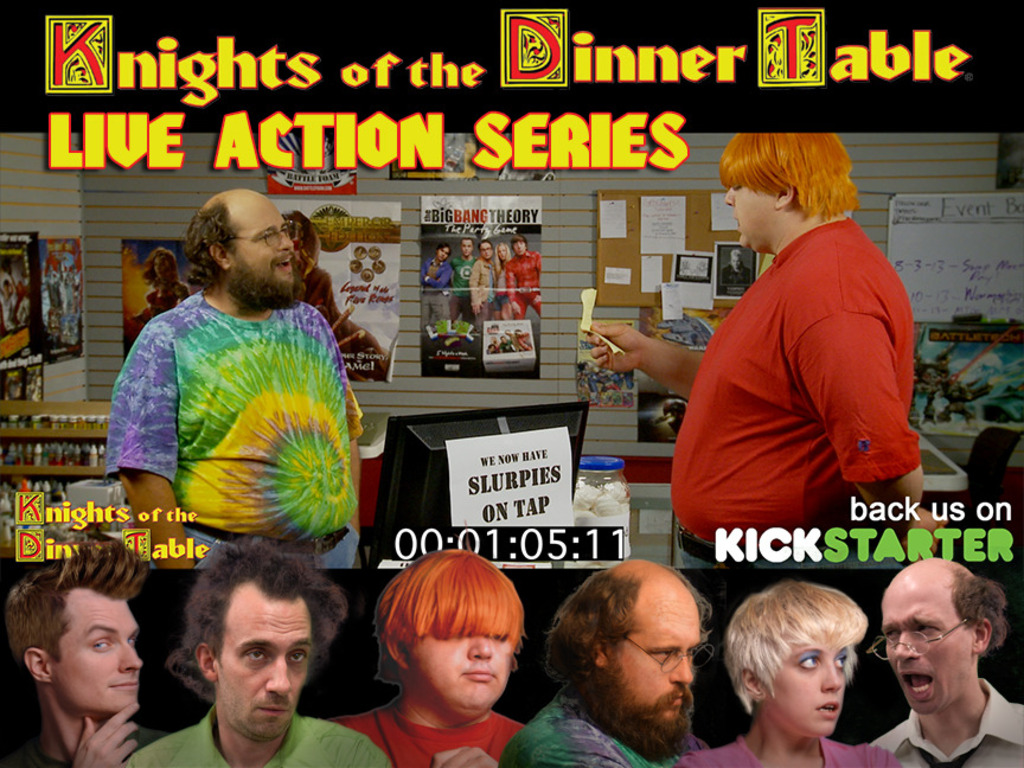 Knights of the Dinner Table: Live Action Series (KODT: LAS)'s video poster