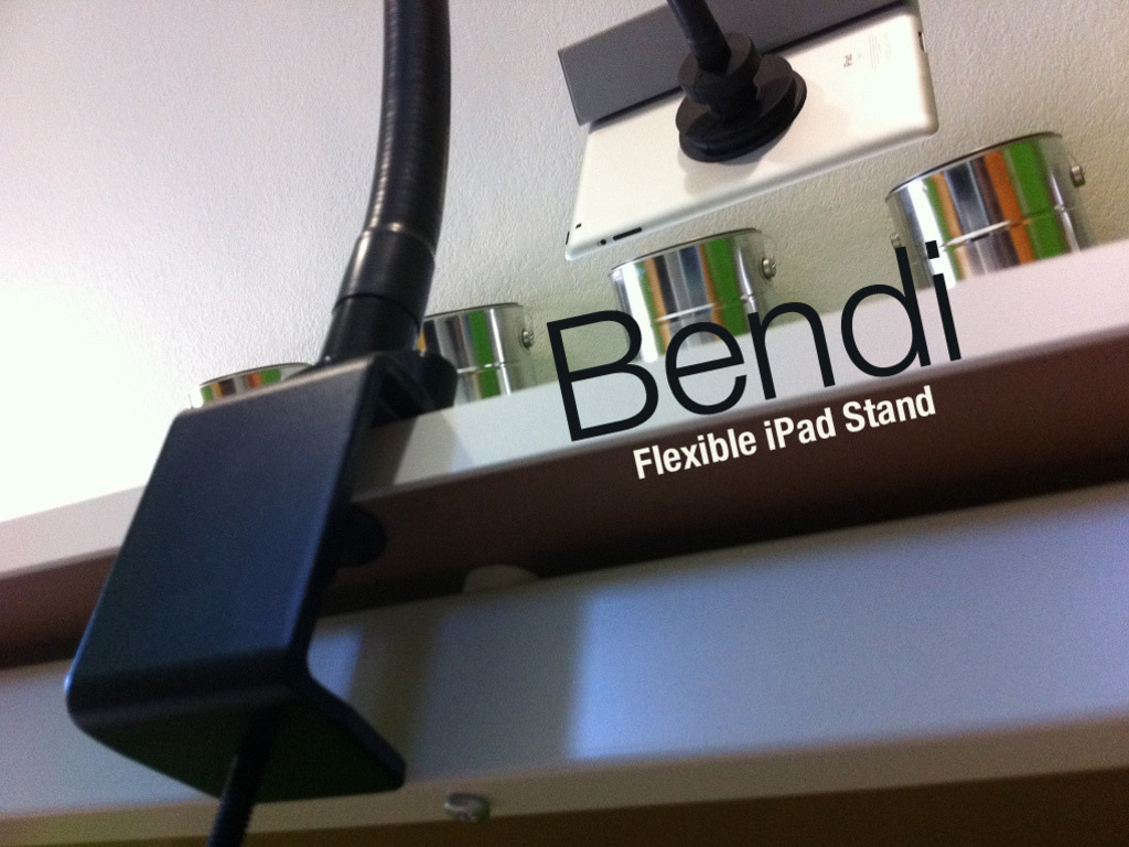 Bendi - The iPad Stand Exactly Where You Want's video poster