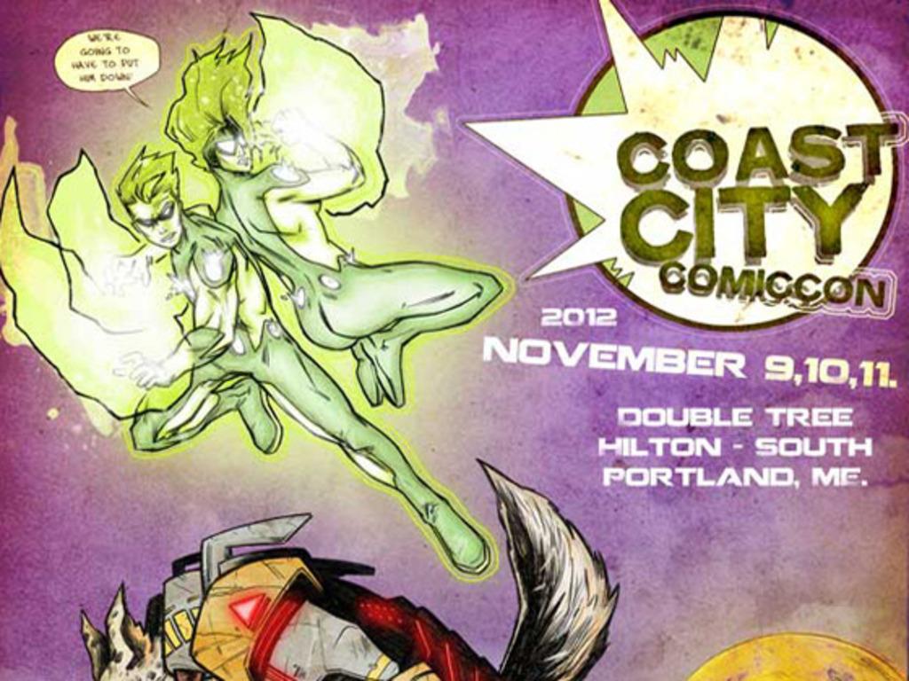 Coast City Comicon's video poster