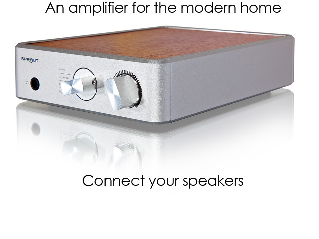 Sprout: HiFi Stereo Amp that transforms the way you listen's video poster