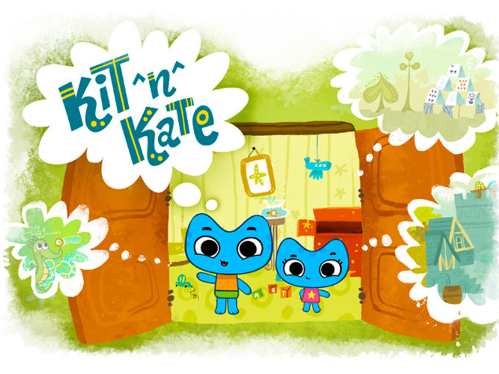KIT ^N^ KATE — 6 cute episodes for kids & parents's video poster