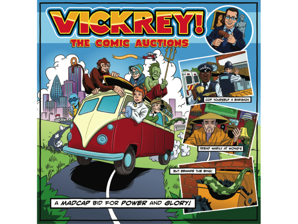 Vickrey - The Comic Auctions's video poster