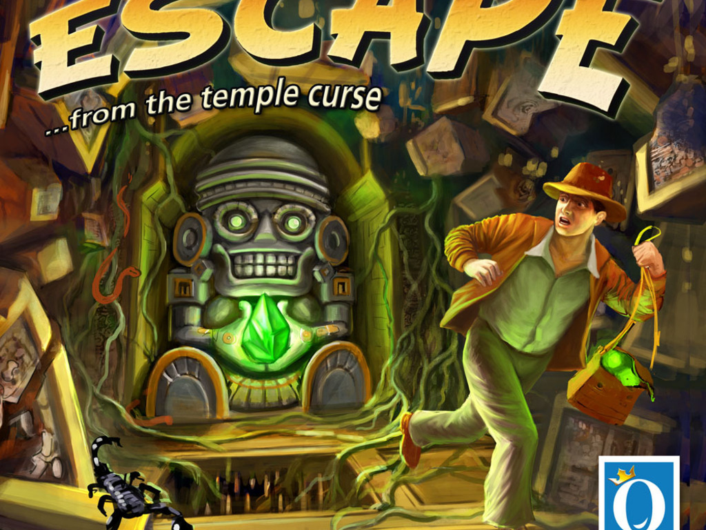 Escape... from the Temple Curse's video poster