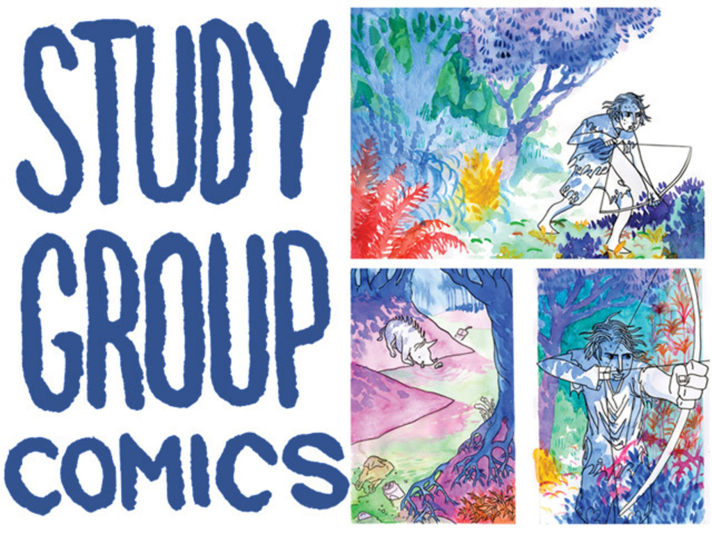 Study Group Comics: 2014 Spring Pre-Order Fest's video poster