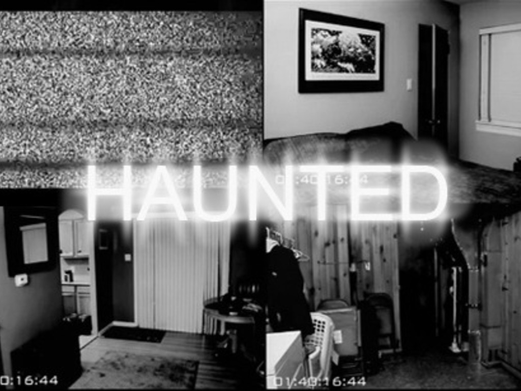 HAUNTED's video poster