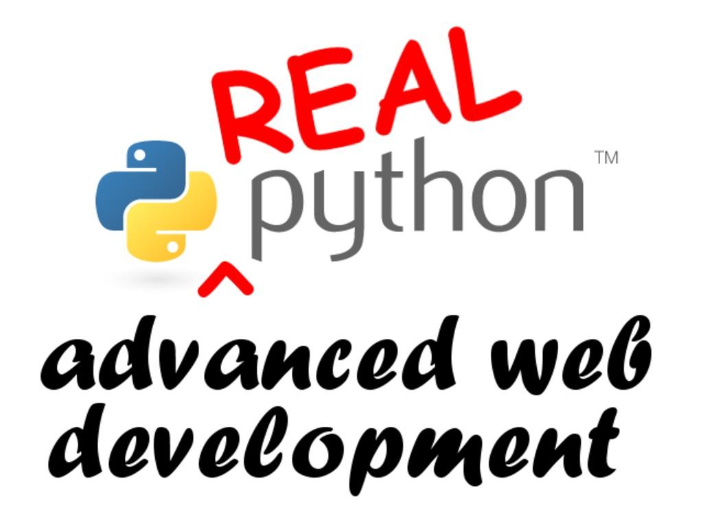 Real Python: Advanced Web Development, featuring Django 1.6's video poster