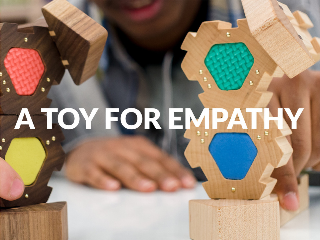 A toy for empathy: unlocking creativity at all ages's video poster