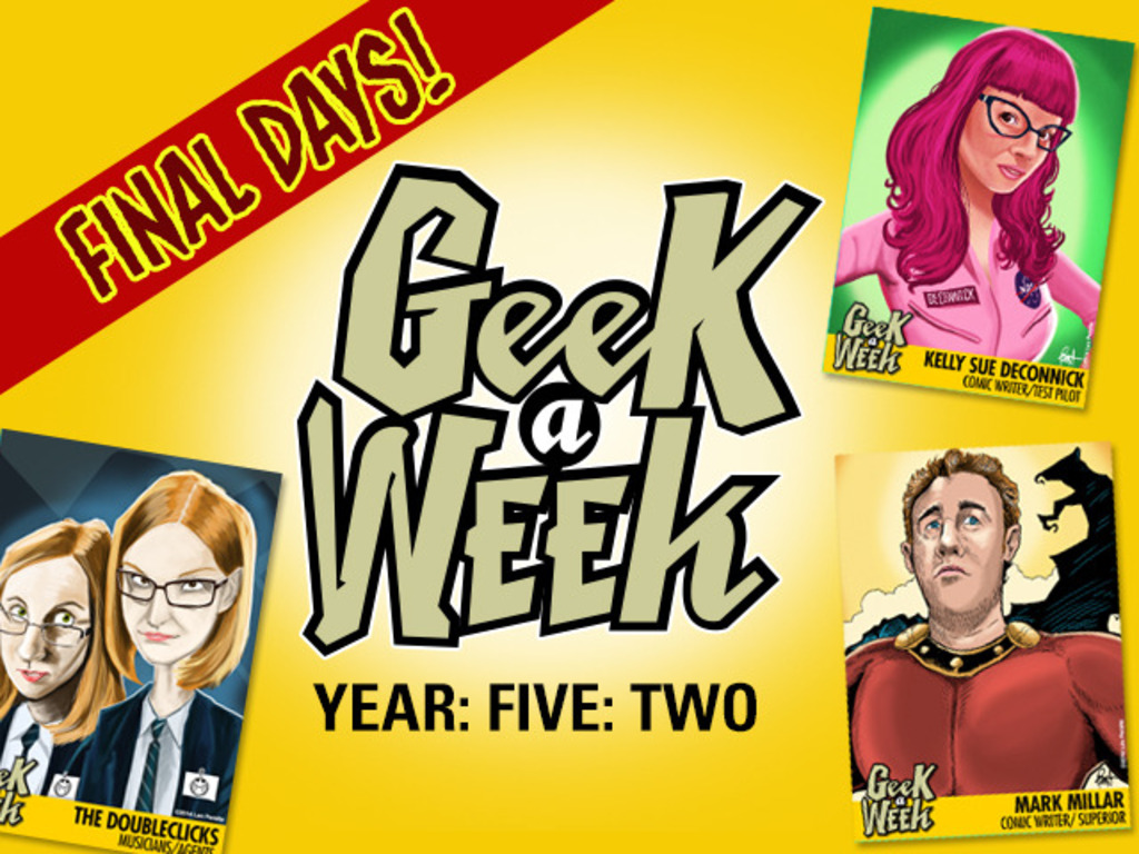 Geek A Week: Year Five Two's video poster