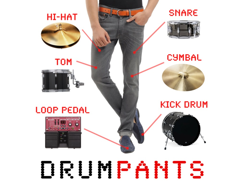 DrumPants: An Entire Band in your Pocket's video poster