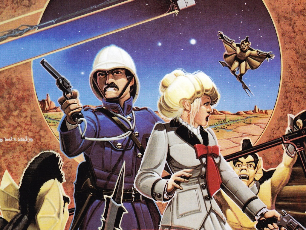 David Deitrick/R. Scott Taylor Retro-Steampunk Novel Launch's video poster