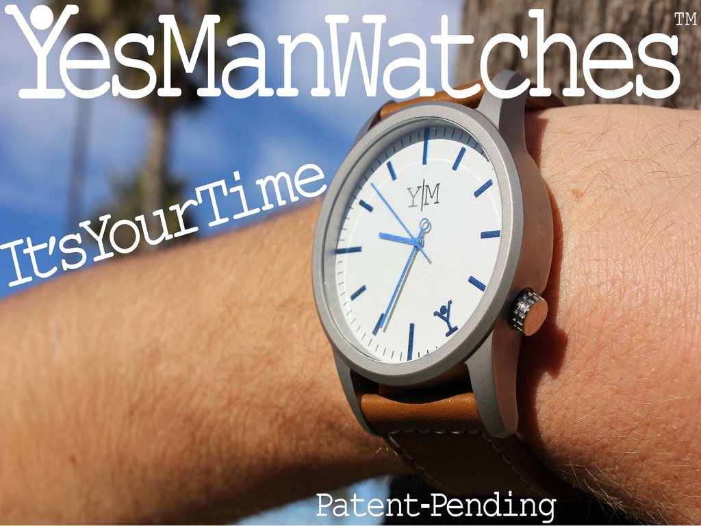 Yes Man Watches: for your time, with a new kind of buckle's video poster