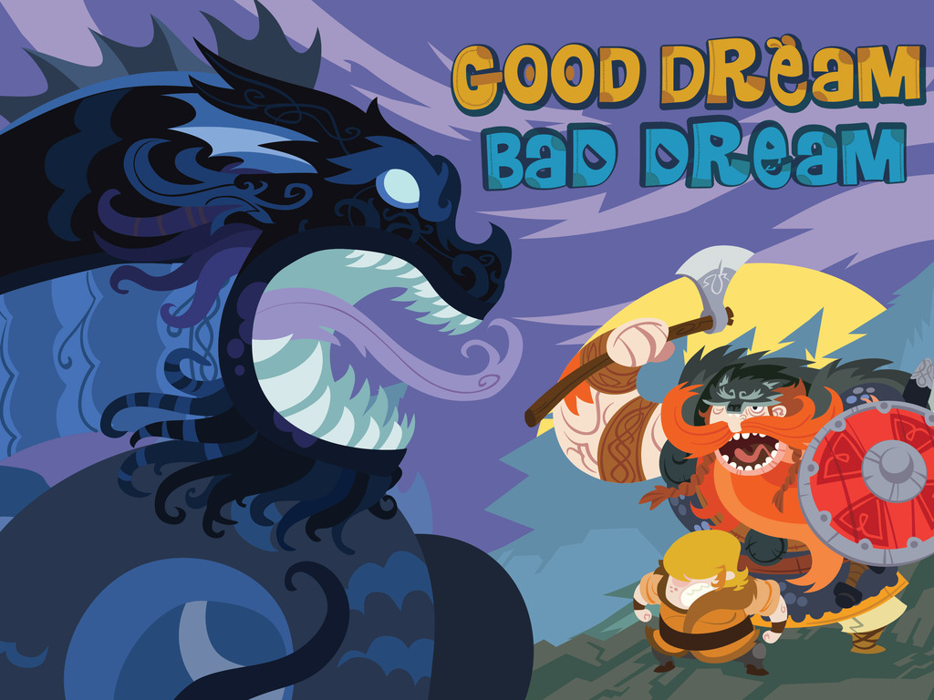 Good Dream, Bad Dream - illustrated fantasy story book's video poster