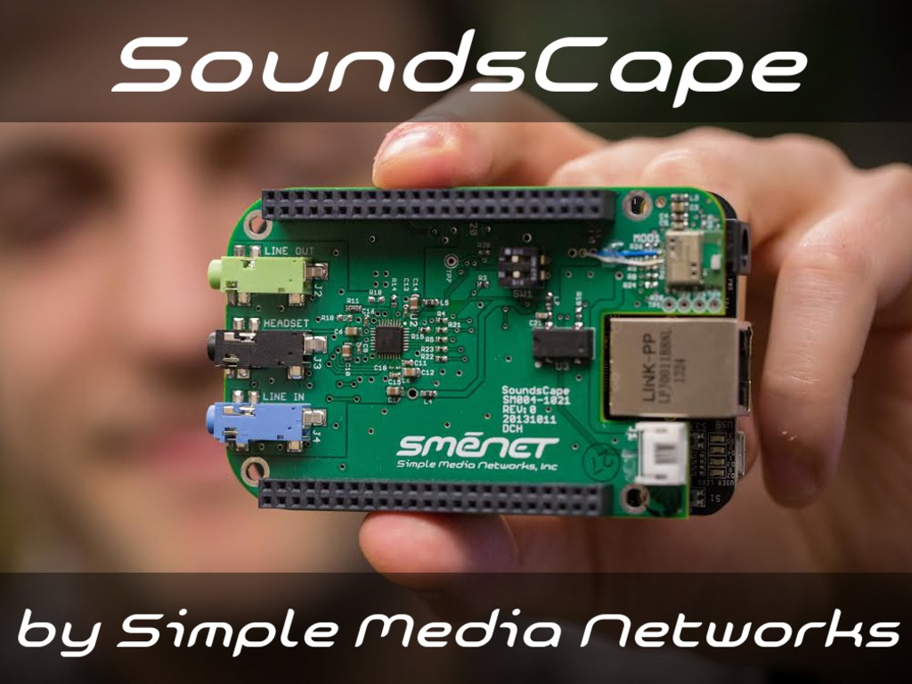 SoundsCape - Analog and Bluetooth Audio for BeagleBone's video poster