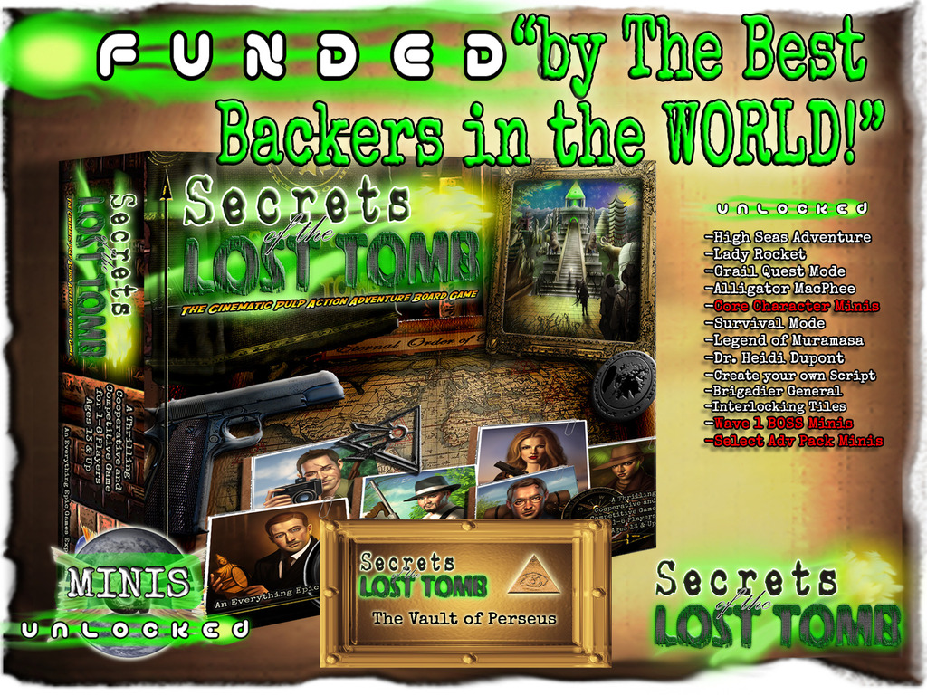 Secrets of the Lost Tomb's video poster