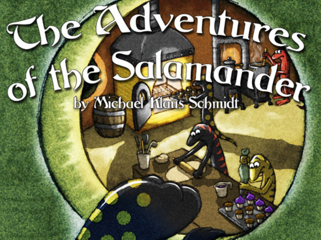 The Adventures of the Salamander's video poster