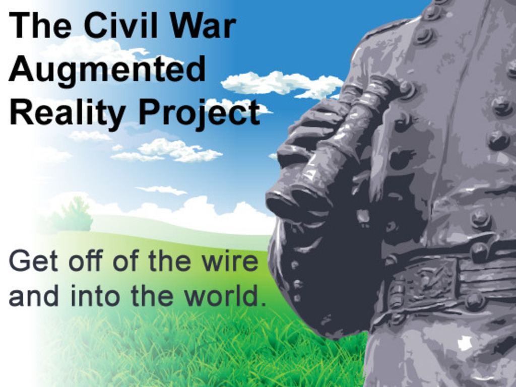 The Civil War Augmented Reality Project's video poster