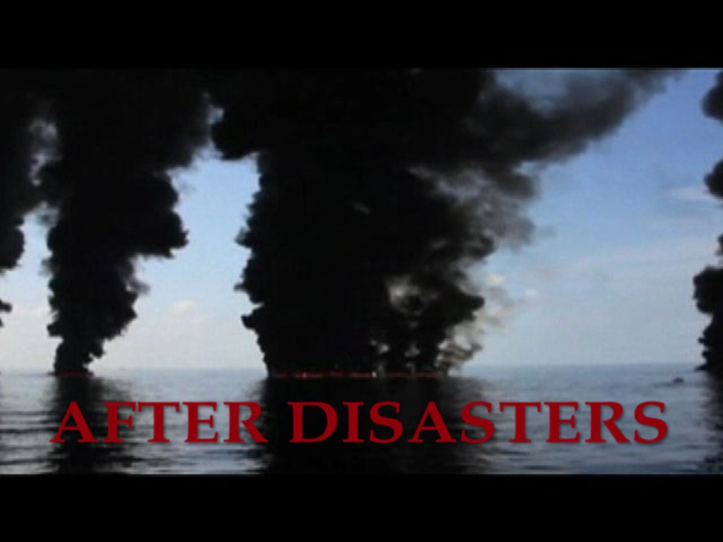 AFTER DISASTERS's video poster