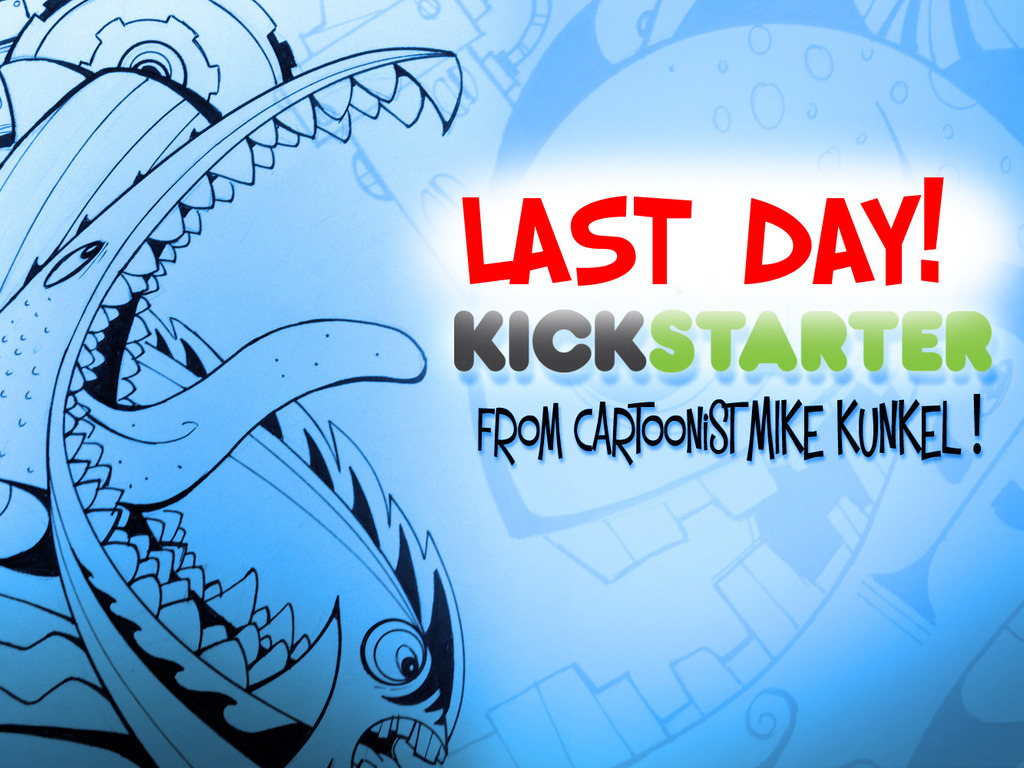 Cartoonist Mike Kunkel's Squiggle Art Book!'s video poster