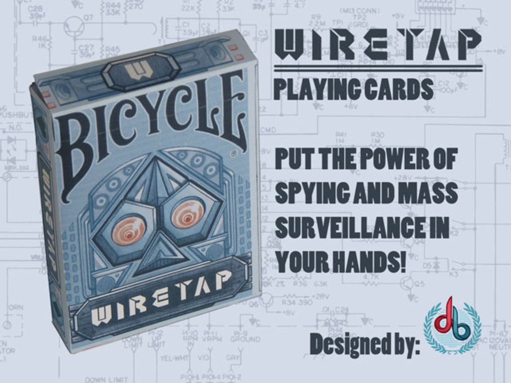 WIRETAP: Bicycle® Playing Cards by Dave Boyd's video poster