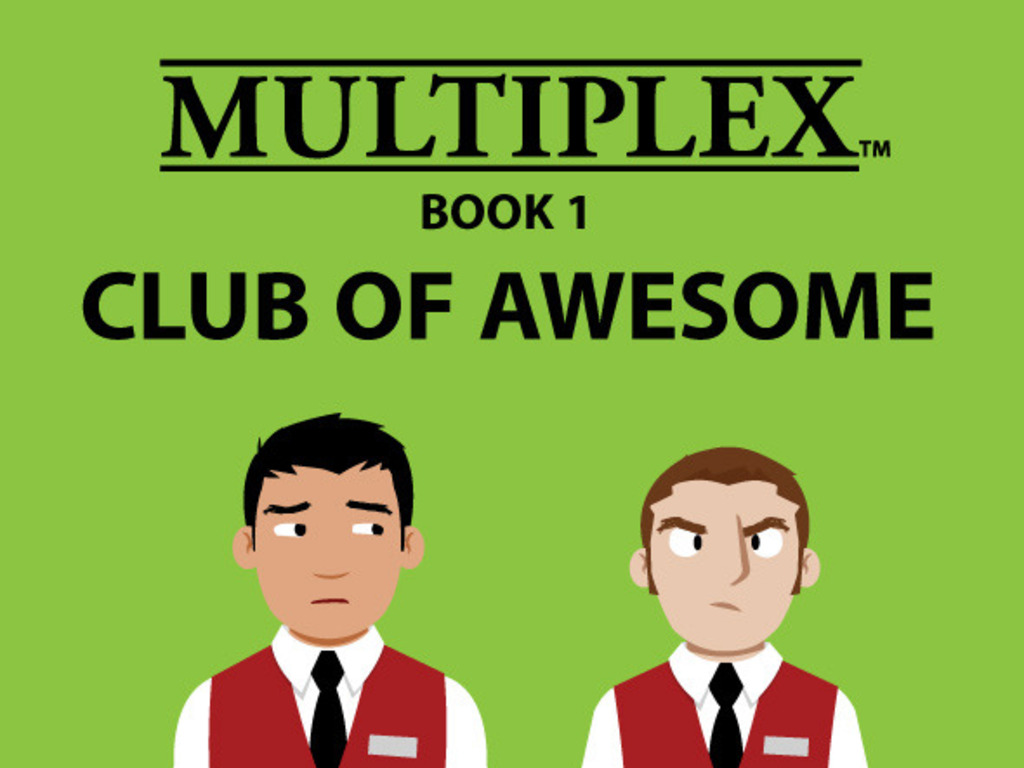 Join the Multiplex: Book 1 Club of Awesome's video poster