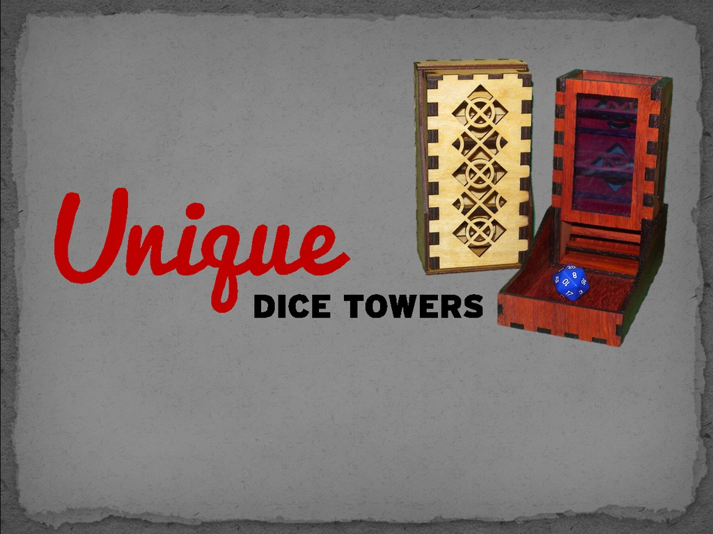 Unique Dice Towers Launches!'s video poster