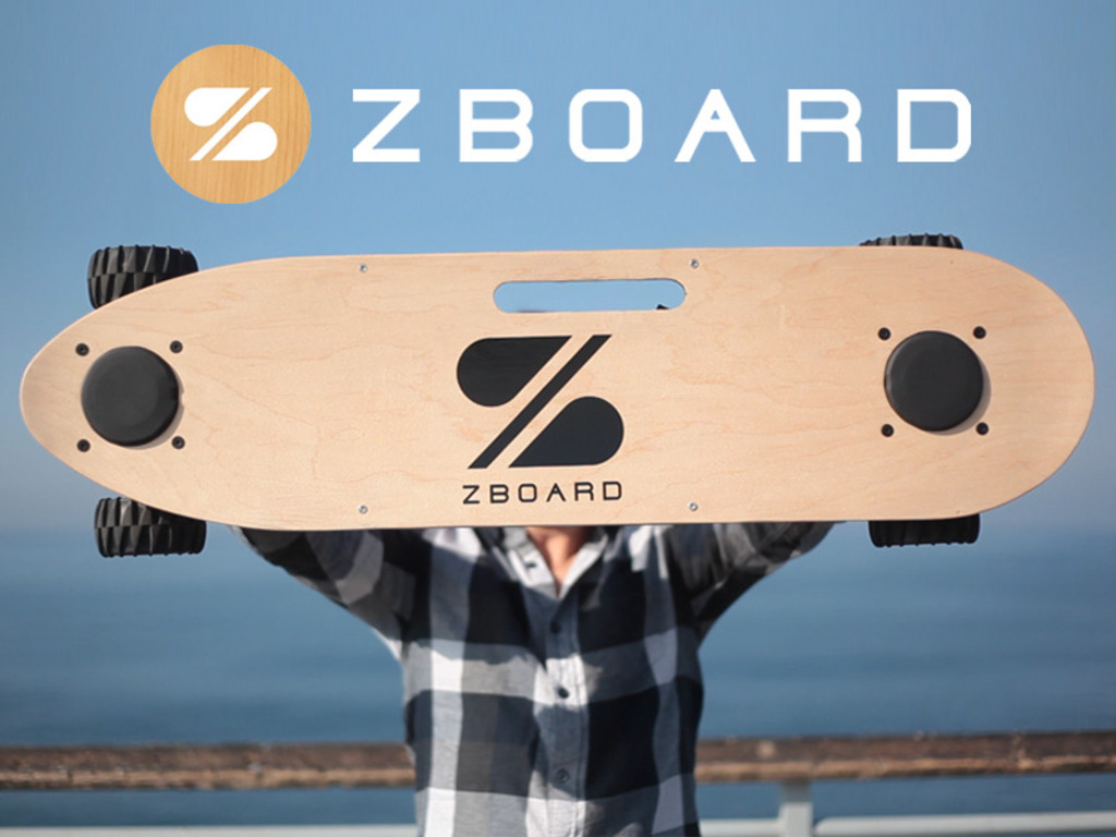 The ZBoard: The Weight-Sensing Electric Skateboard's video poster