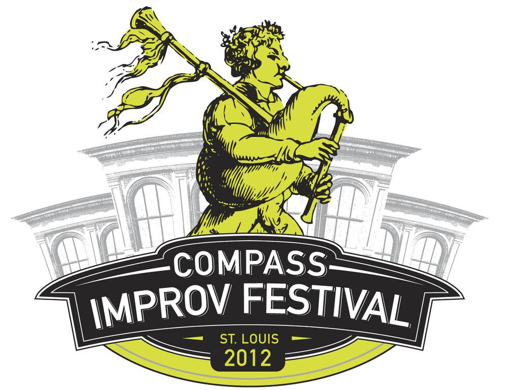 2012 Compass Improv Festival's video poster
