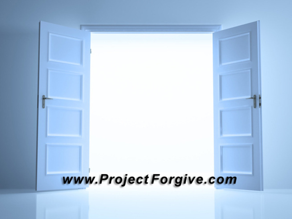Project: Forgive's video poster