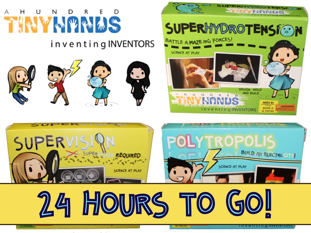 A Hundred Tiny Hands:  Toys for Your Brilliant Lil' Inventor's video poster