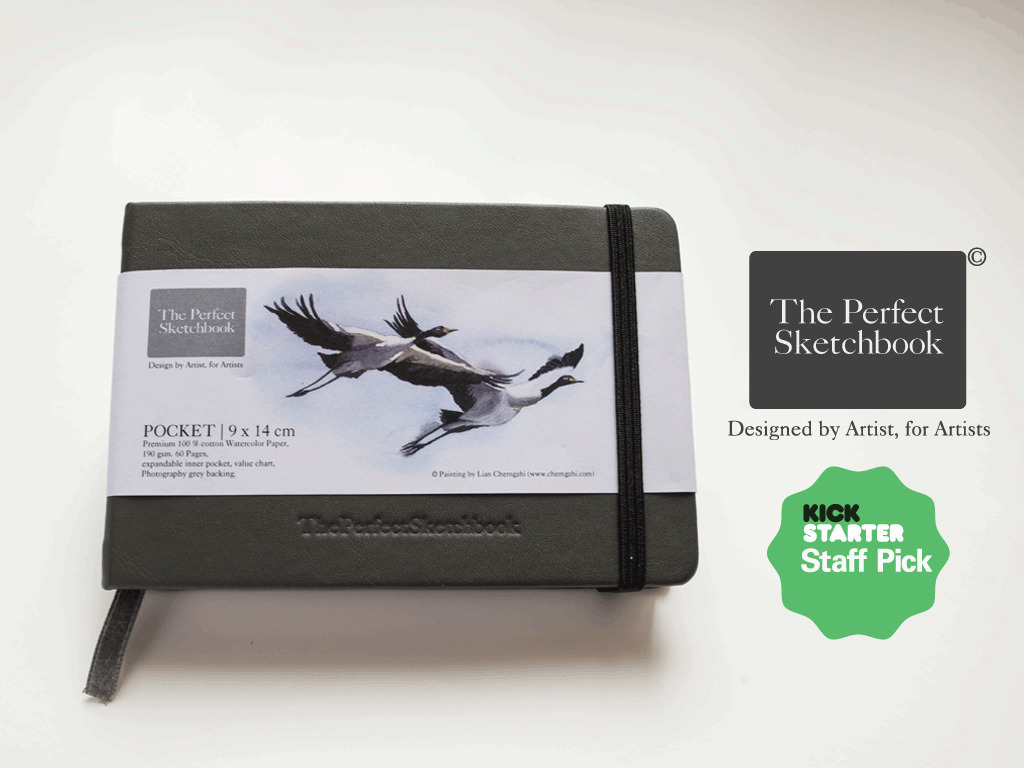 The Perfect Sketchbook for Travel Artists & Art Enthusiasts's video poster