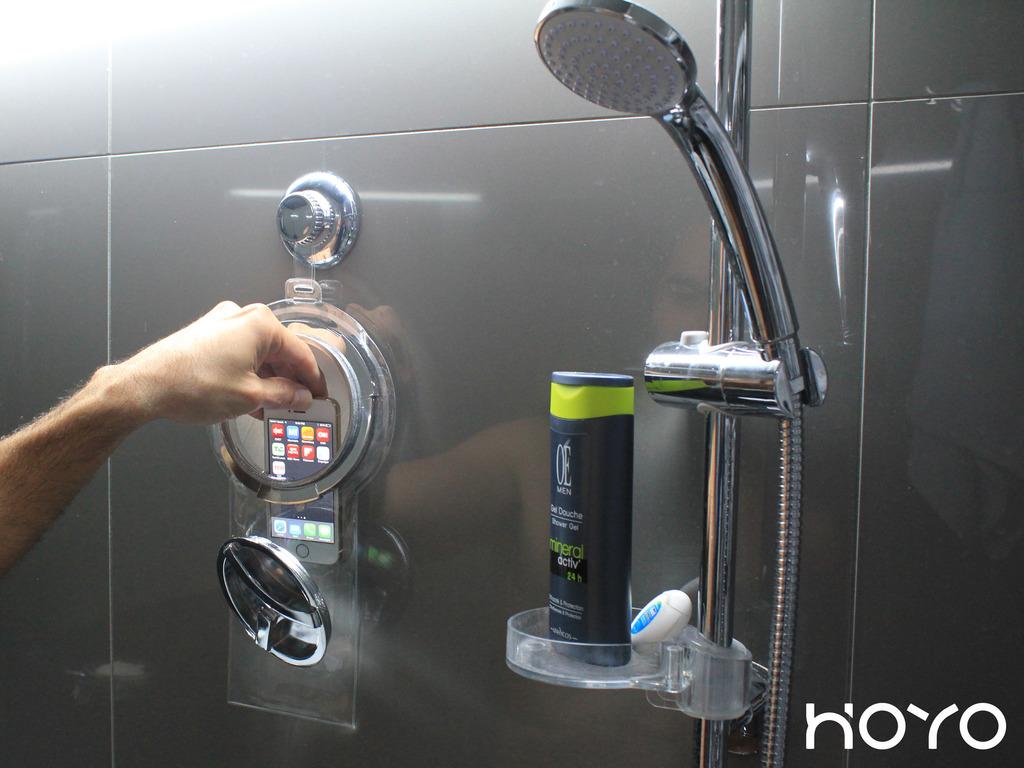 HOYO: Showerproof pocket for all smartphones & iPods's video poster