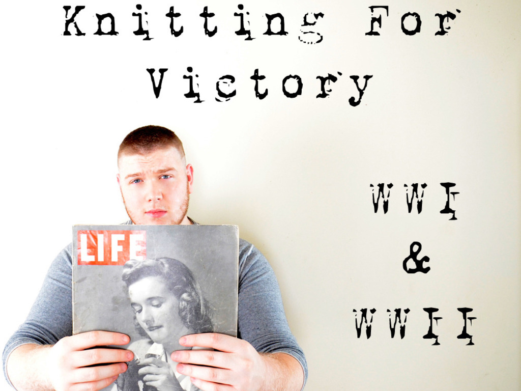 KNITTING FOR VICTORY: America's Knitting History 1916-1945's video poster