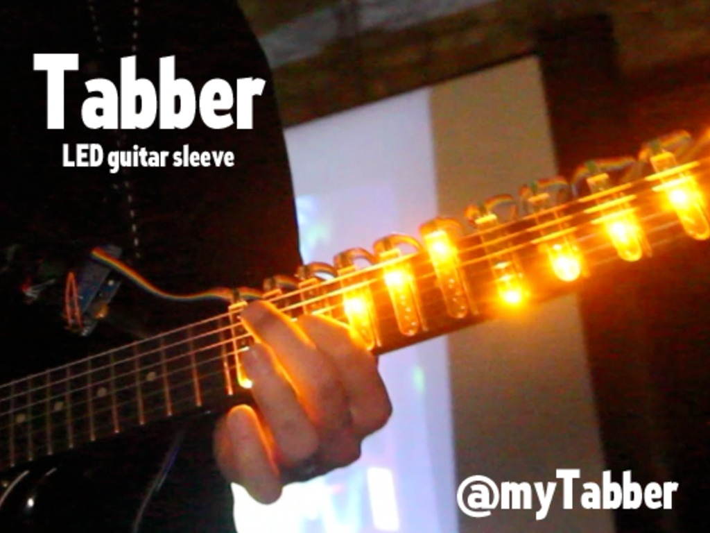 Tabber LED Guitar Light Sleeve (Canceled)'s video poster