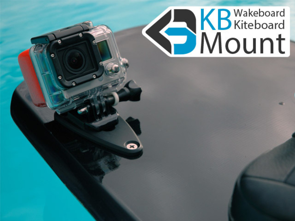 KB GoPro MOUNT - attachment for wakeboards & kiteboards.'s video poster