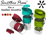 """Smoothie Press™ ... """"For a Seedless Smoothie"""""""