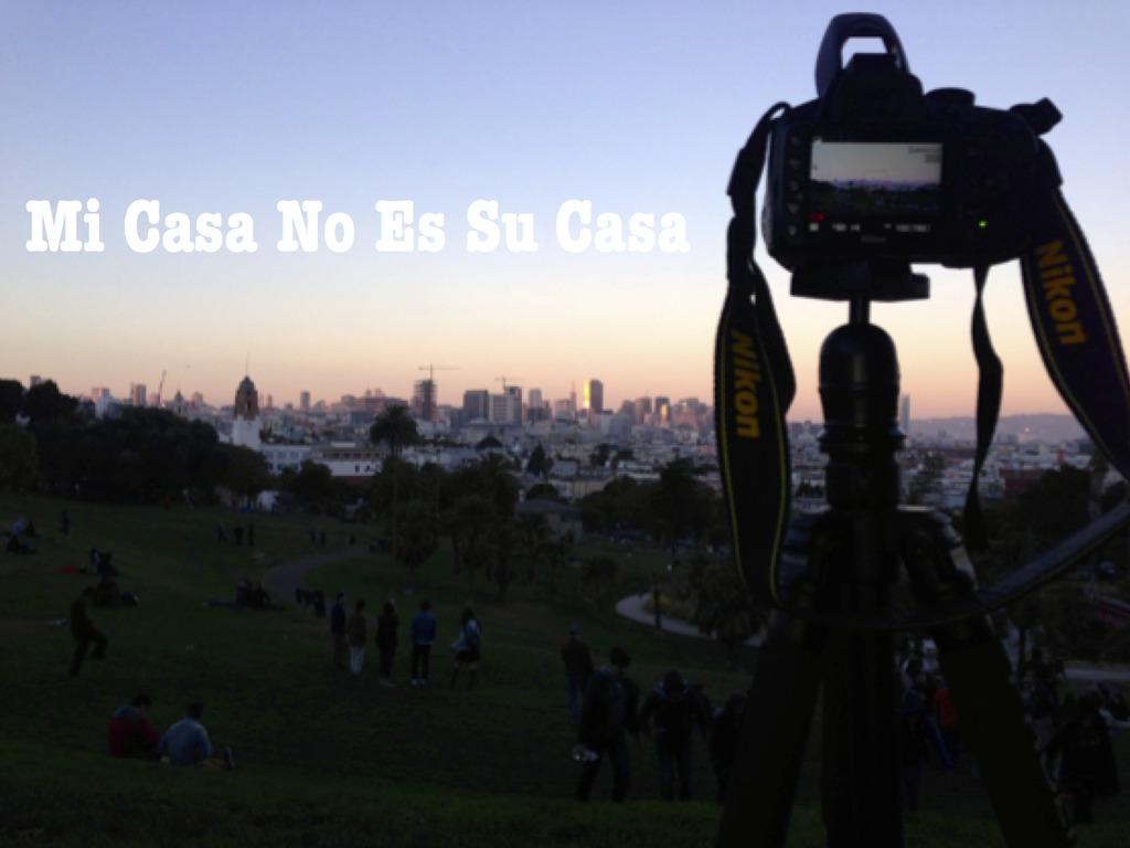 Mi Casa No Es Su Casa's video poster