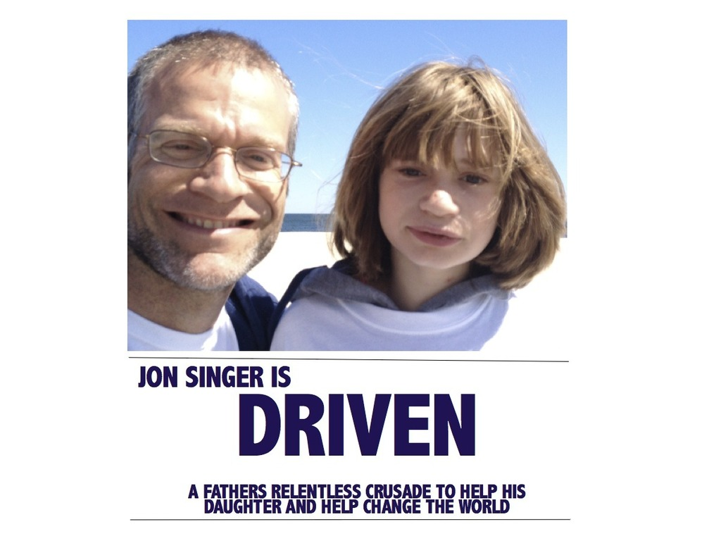 Driven: to help his daughter and help change the world's video poster