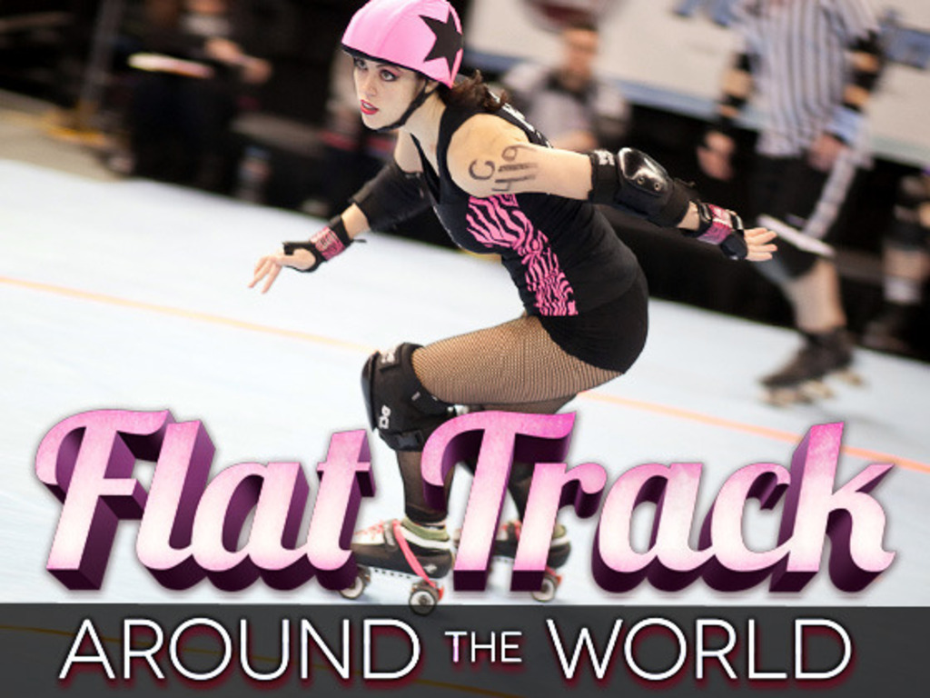 Flat Track Around the World's video poster