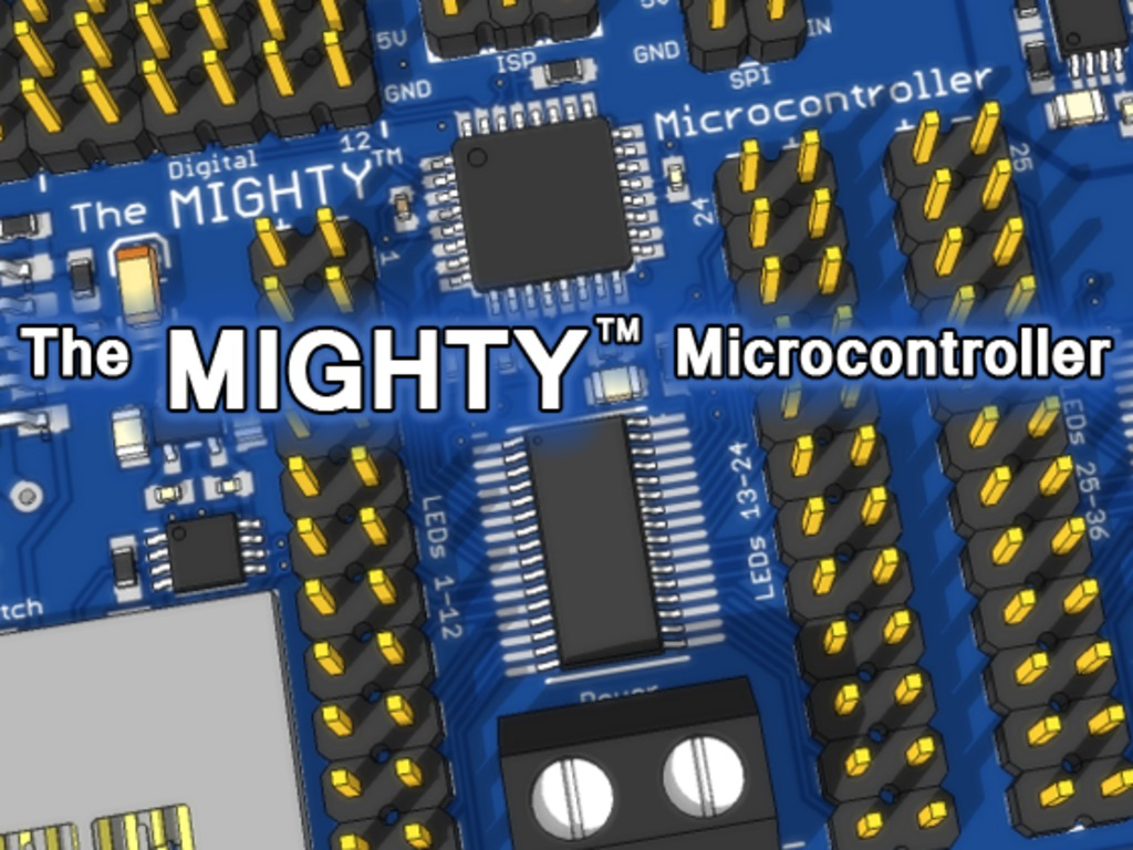The MIGHTY™ Microcontroller's video poster