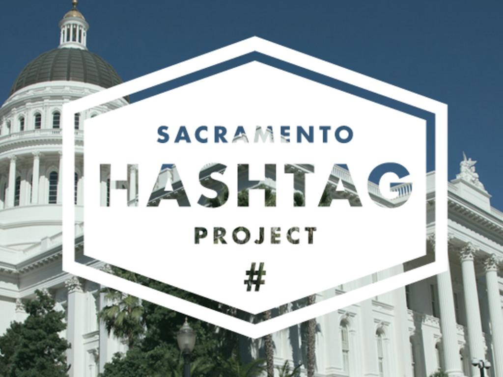 Sacramento Hashtag Project's video poster