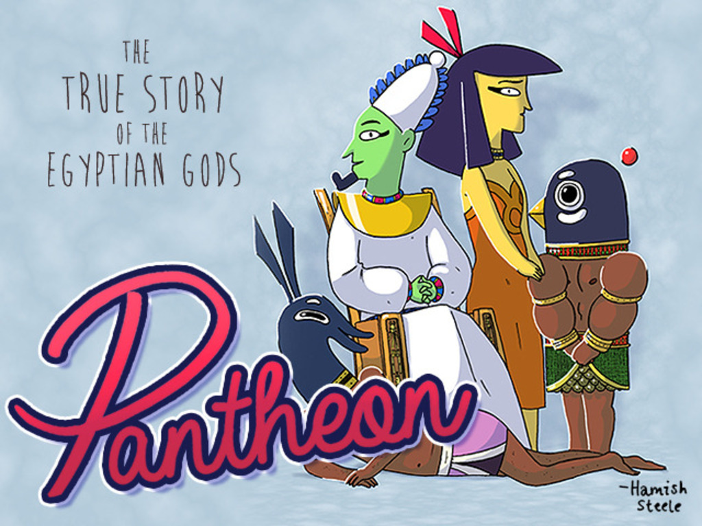 PANTHEON -The True Story of the Egyptian Gods's video poster