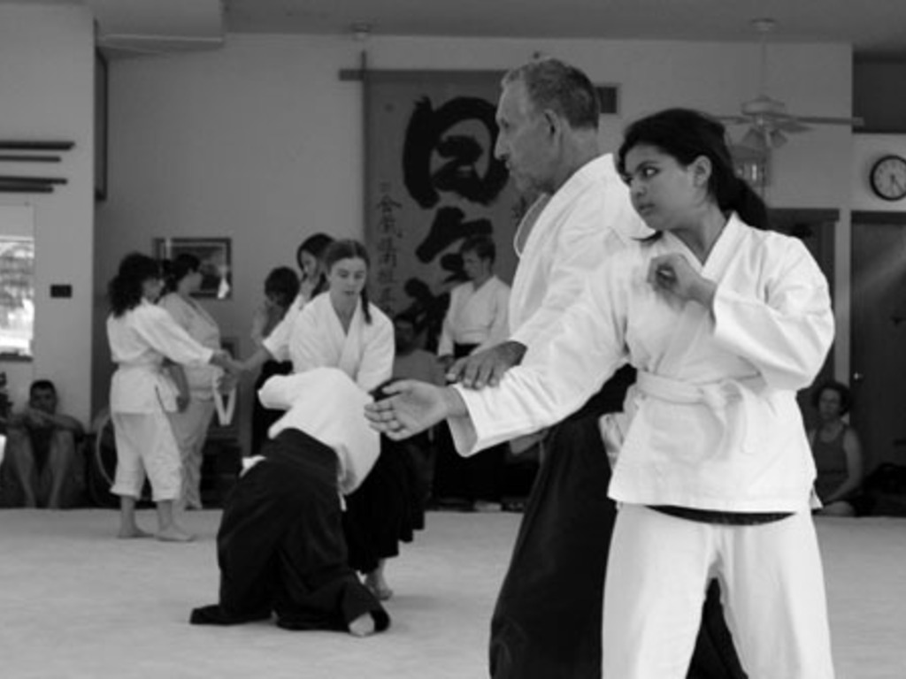 dojo: the story of an American aikido school's video poster