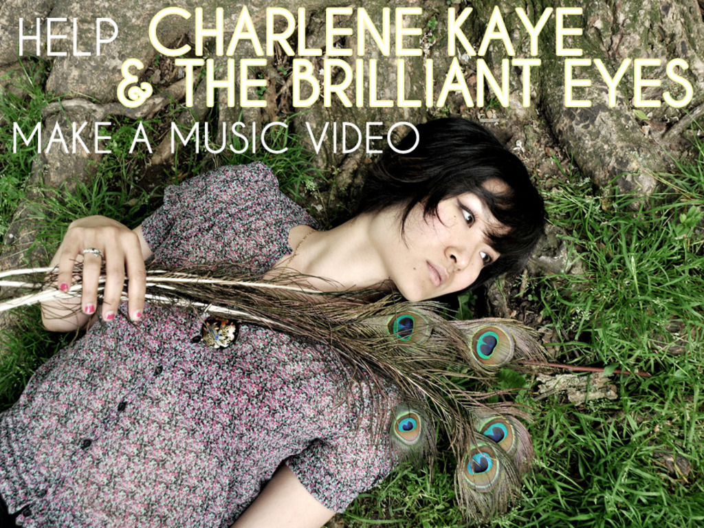 """Mad Tom of Bedlam"" Music Video by Charlene Kaye & The Brilliant Eyes's video poster"