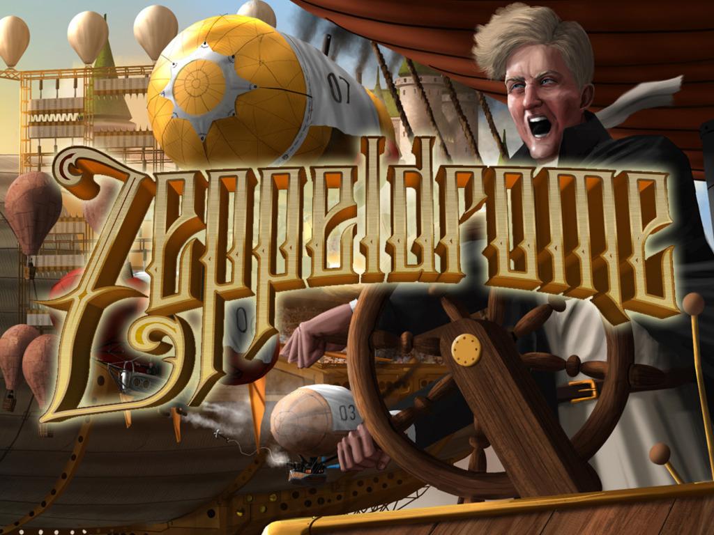 Zeppeldrome: A Humorous, Hazardous Dirigible Rally's video poster