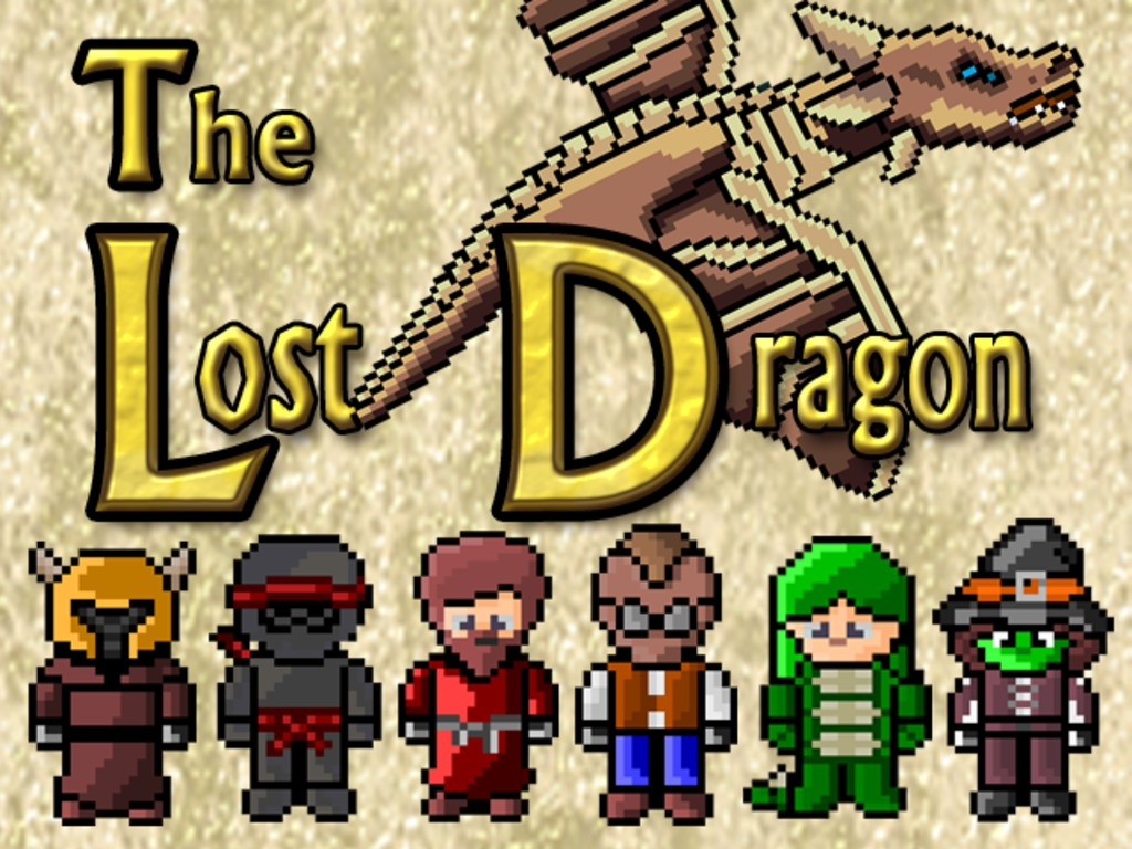 The Lost Dragon - Discos, Dragons, & Dungeons - Retro Style's video poster