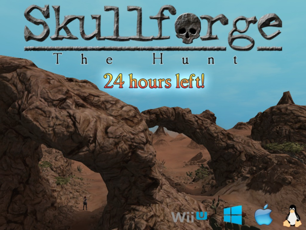 Skullforge: The Hunt's video poster