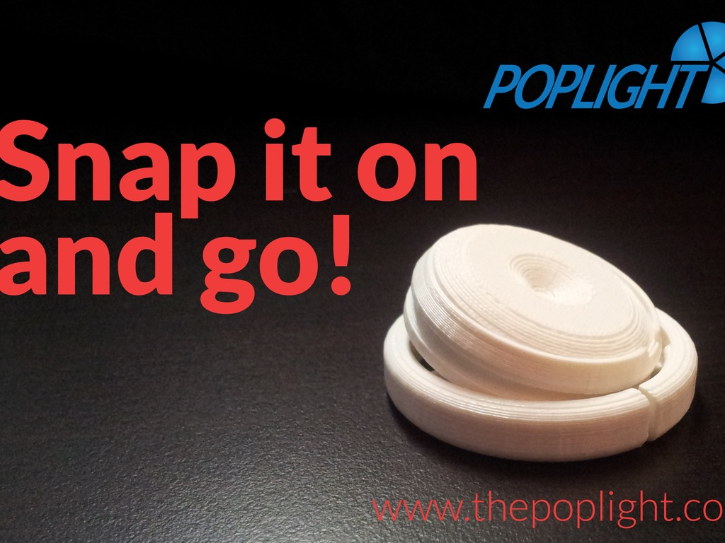 POP-LIGHTS - the take-anywhere-and-be-seen light.'s video poster
