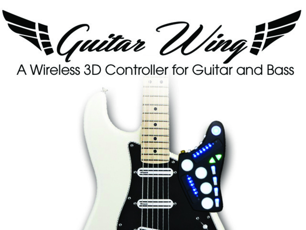 Guitar Wing: Wireless Control Surface for Guitar and Bass's video poster