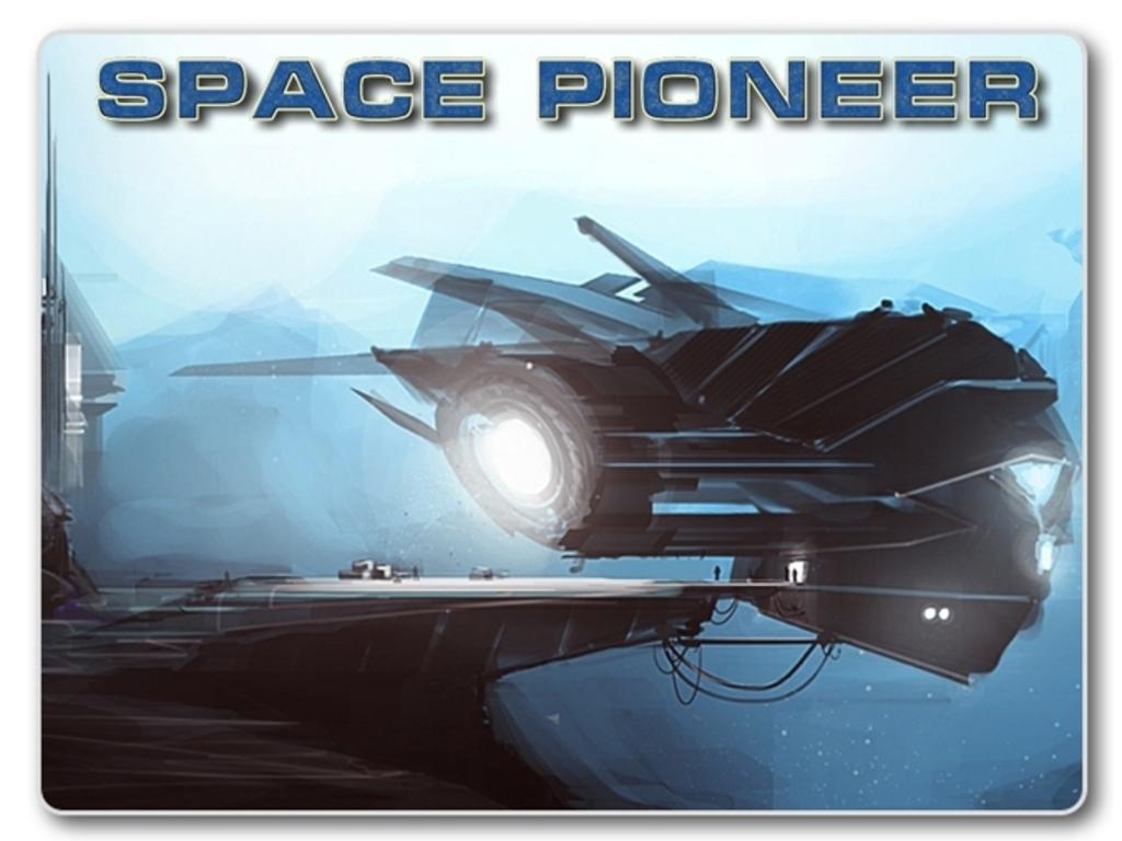 Space Pioneer's video poster