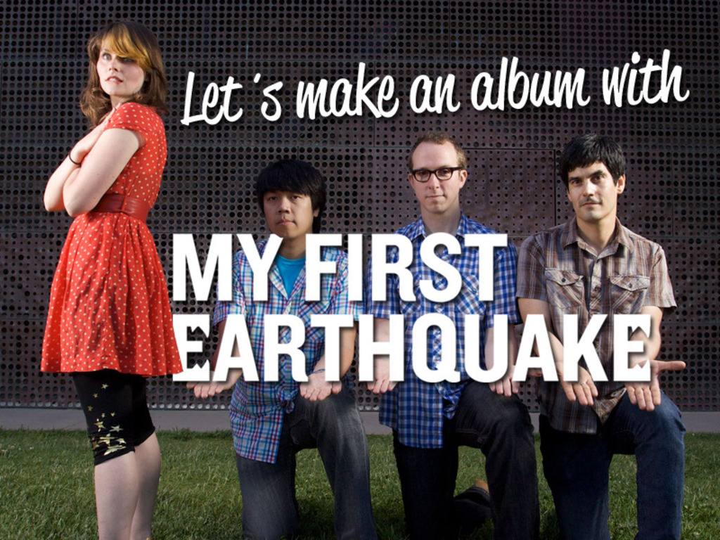 My First Earthquake Destroys a Recording Studio's video poster
